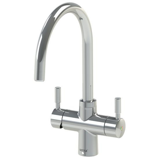Qettle 4-in-1 Boiling Water Tap - Lever Handle